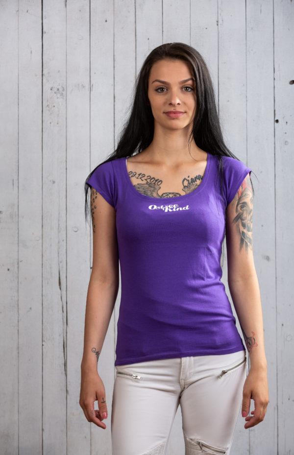Schönes lila Ostsee-Shirt für Damen von Ostseekind