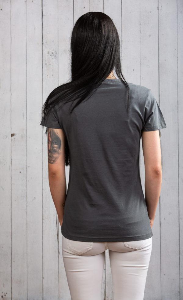 Kultiges Ostsee-Shirt für Damen in Charcoal