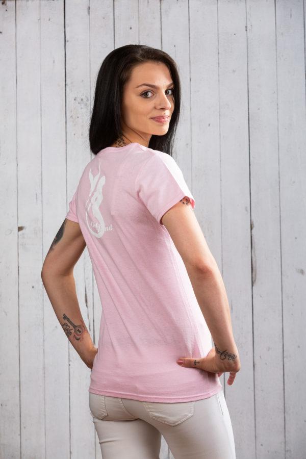 Süßes hellrosa Ostsee-Shirt für Damen von Ostseekind