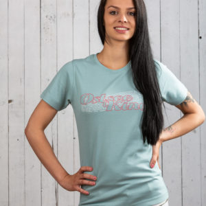 Stylisches Ostsee-Shirt für Damen in Pastell von Ostseekind