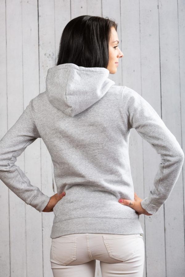 Klasse Ostsee-Hoodie für Damen in Grau