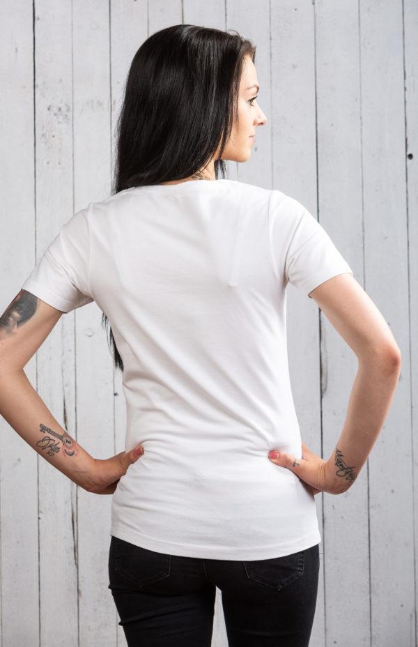 Frisches Ostsee-Shirt für Damen in Weiß